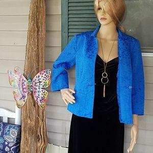Women's Erin London blue blazer size medium